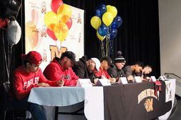 Seven MHS Players Commit to Play College Football