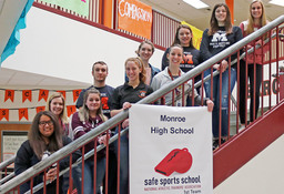 MHS Receives National Athletic Trainers' Association Award