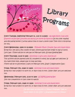 February Library Events