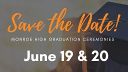 Save the Date for MHS Individual Graduation Ceremonies!