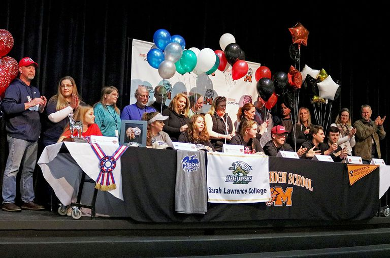 Seven More MHS Athletes Sign College Letters of Intent