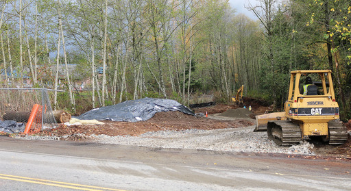 Construction of New Chain Lake Elementary Driveway Begins