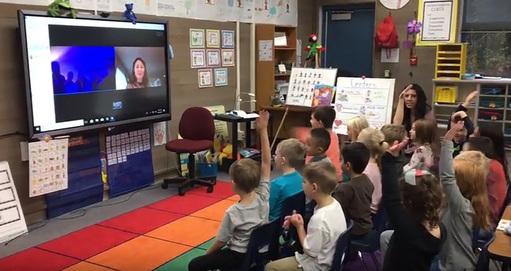 Virtual Lesson for Kindergarten Students